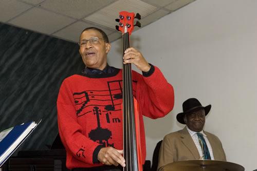 Bob Cranshaw's 80th birthday celebration at Local 802