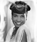 Carline Ray's first publicity shot. Photo: Carline Ray Collection