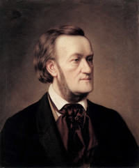 An 1862 portrait of Wagner by Cäsar Willich (1825–1886)