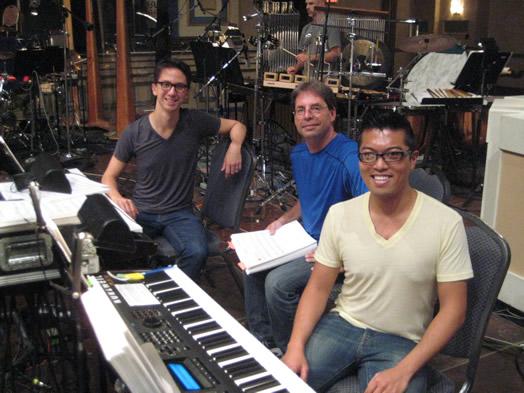 Peter Nilsen, Gary Georgett (programmer) and Steven Cuevas