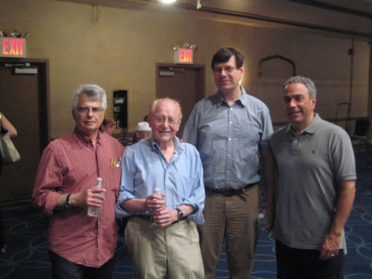 Louis Bruno, Seymour 'Red' Press, John Winder and Rob DeBellis