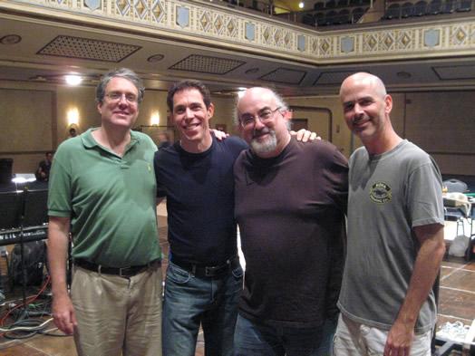Josh Rosenblum, Greg Landes, Michael Starobin and Dave Roth