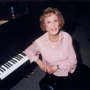 Marian McPartland (1918-2013) was the grand matriarch of jazz piano.