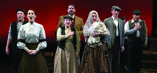 """The ensemble from """"God's Country."""" Photo: Steven Rosen"""