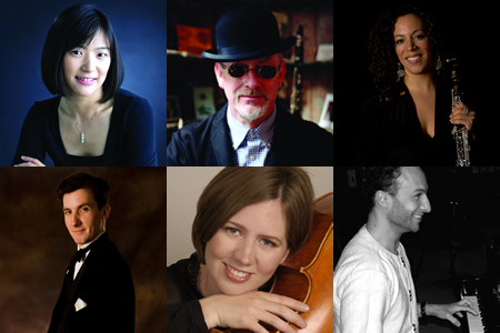 Top row: Misuzu Tanaka, Steve Goulding and Mariam Adam. Bottom row: Todd Sullivan, Gwendolyn Smith Nguyen and Colin Welford.