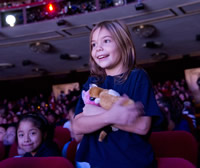 Live music is the best! kids got to see a Broadway show up close and personal at Inside Broadway's latest production of Cinderella. Photo: Elena Olivo