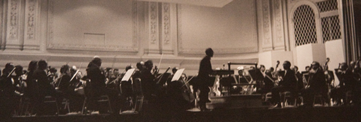 The Symphony of the New World's debut concert on May 6, 1965 at Carnegie Hall.