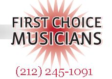 Click photo for the new booking agency, at www.FirstChoiceMusicians.com.