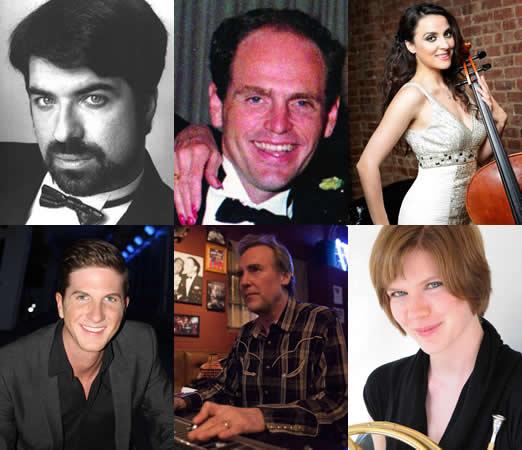 Top row: Michael Sansonia, Bryan Chauncey Mays, Gijiberta Lucaj. Bottom row: Jordon Cunningham, Jonathan Gregg, Laura Weiner