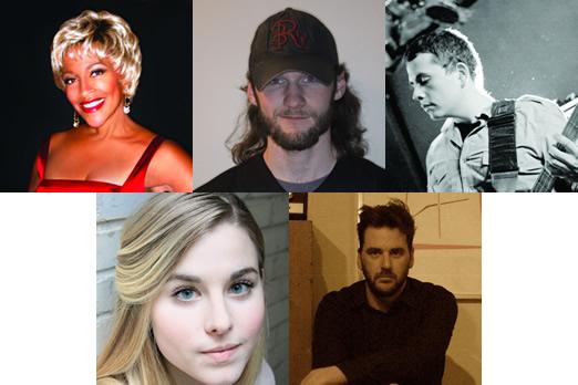 Top row: Cynthia Holiday, James A. Reilly, Joseph Wallace. Bottom row: Elyssa Samsel, Matthew Filler