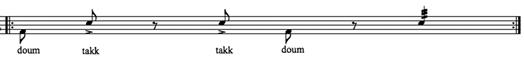 Figure 1: doums and takks
