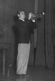 Vince Penzarella perforrming as a very young man.