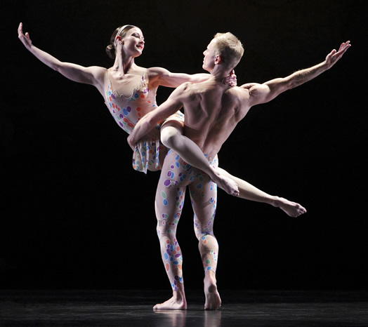 Dancers in the Paul Taylor Dance Company will now be dancing to live music again. This victory was one of Local 802's bright spots in 2014. Photo: Paul B. Goode