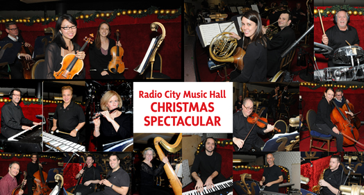 Musicians who play at the Radio City Music Hall Christmas Spectacular have one of the hardest-working holiday gigs. Photos: Walter Karling