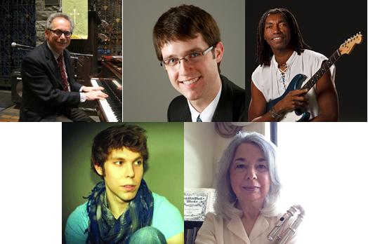 Top row: Bill Gati, Brian Krock, Karlus Trapp. Bottom: Greg Szaro, Arlene Stock.