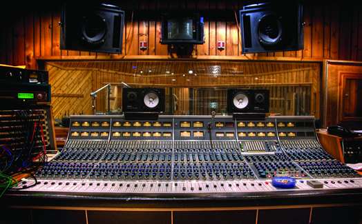 The classic Neve 8088 console at Avatar, in Studio A.