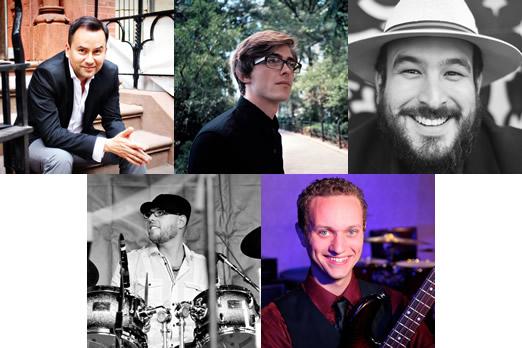 Top row, from left: Alex Navarro, Sean Liljequist, Hugo Moreno. Bottom row: Rob Mitzner, Chris Agar.