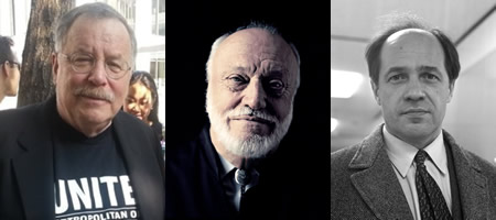 From left: Alan Gordon, Kurt Masur (photo: Frans Jansen), Pierre Boulez (photo: Joost Evers/Anefo).