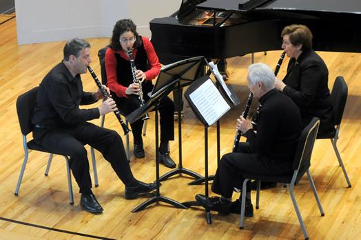 Larry Guy, Daniel Spitzer, Jo-Ann Sternberg and Kathryn Taylor
