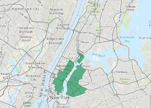 New York S 12th Congressional District New York Us Congressional District 12 Since 2013