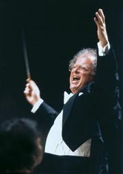 Maestro James Levine. Photo: Koichi Miura