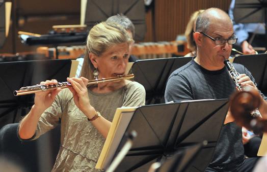 Judy Mendenhall and Matt Dine