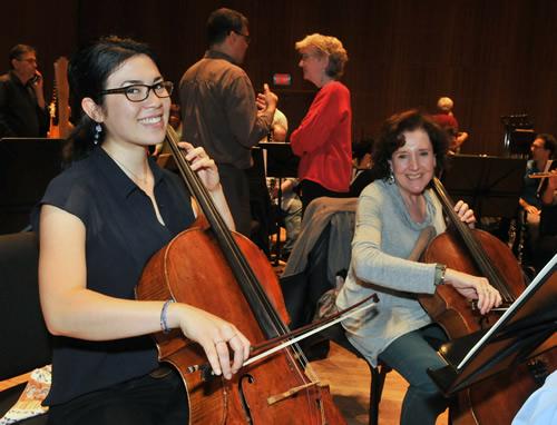 Mariko Wyrick and Maureen Hynes
