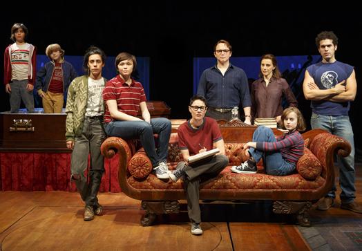 """The original cast of """"Fun Home."""""""