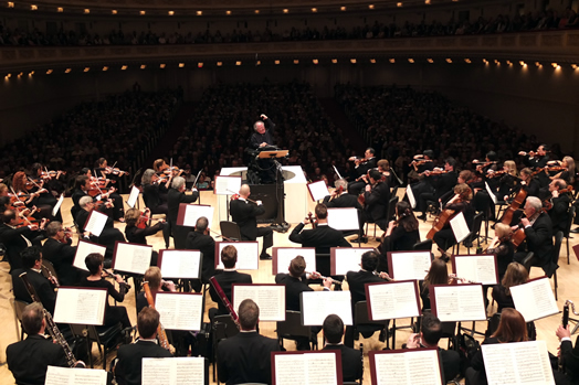 After an historic 40-year tenure as music director of the Metropolitan Opera, Maestro James Levine recently conducted his first series of concerts as music director emeritus with an emotional program of highlights from Wagner's Ring Cycle. Palpable throughout the evening was an overwhelming appreciation of Maestro Levine's status as a New York cultural institution unto himself, having built the MET Orchestra into one of the world's great ensembles and the Metropolitan Opera into the standard bearer for an entire art form. Photo: Hiroyuki Ito/Metropolitan Opera