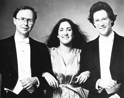 Thomas Schmidt, Suzanne Ornstein and Clay Ruede perform together as the Arden Trio.