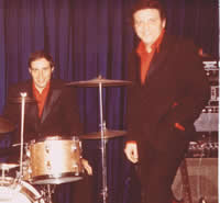 Con Astone with his friend Tony Savoia on drums.