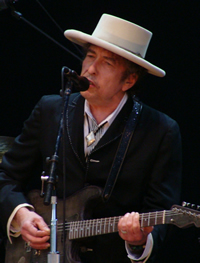 Local 802 member Bob Dylan at Azkena Rock Festival in Vitoria-Gasteiz, Spain. Photo: Alberto Cabello via Wikipedia