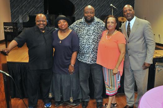 The Gospel Committee: Rev. D.W. Cochren, Pamela Wilkins (Leslie's sister), Russell Harper, Fran McIntyre, Rev. Kirk Lyons.
