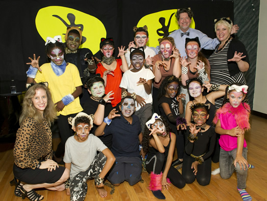 "Kids at Inside Broadway's Summer Stock Jr. produced a ""Cats"" spinoff this year."