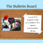 The Bulletin Board – Local 802 support and procedure for sexual harassment abuse