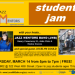 Jazz Mentors Student Jam