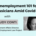 Unemployment 101 for Musicians Amid COVID-19