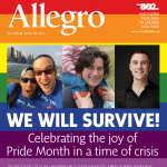 DOWNLOAD A PDF OF THE JUNE 2020 ISSUE OF ALLEGRO (CLICK THE LINK BELOW)