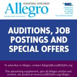 AUDITIONS, JOB POSTINGS AND SPECIAL OFFERS