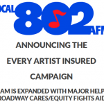 Announcing the EVERY ARTIST INSURED campaign