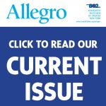 Read the current issue of Allegro