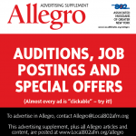 Auditions, job postings and offers