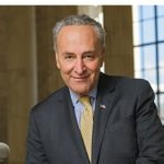 Senator Chuck Schumer congratulates Local 802 and President Adam Krauthamer